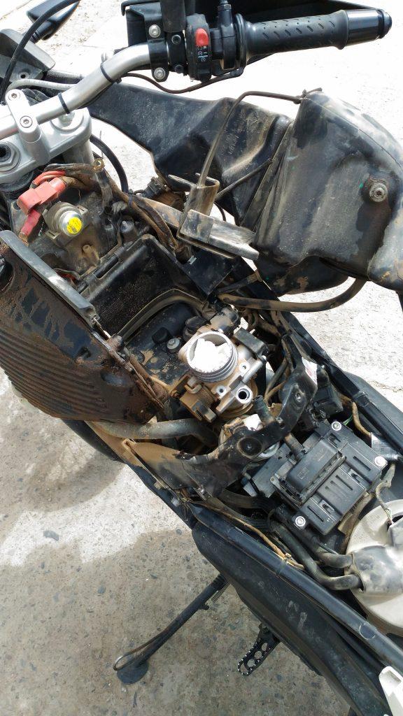 panne de fusible sur ma moto de location