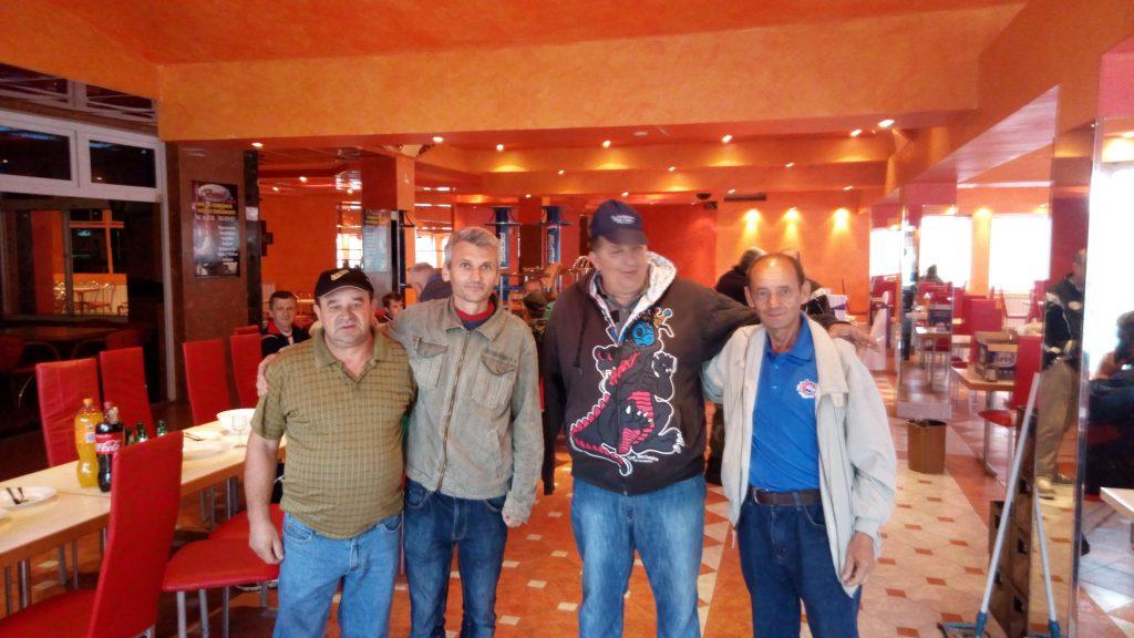 des veterans de la guerre a sarajevo