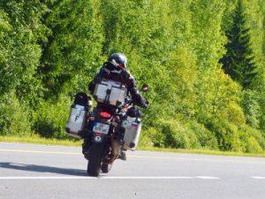 moto en voyage