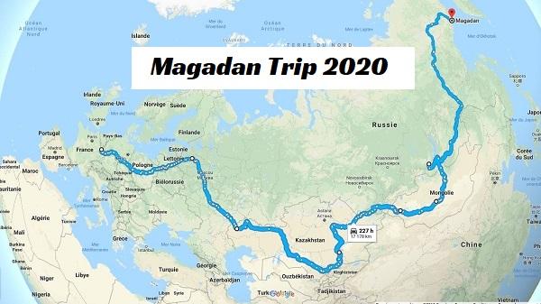 Magadan Trip 2020 – Départ dans 2 mois.