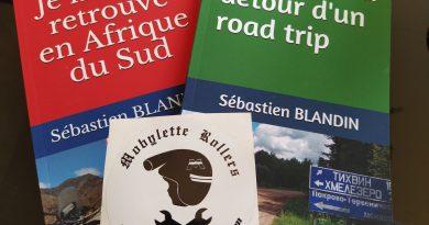 photo des deux livres écrits par l'auteur Sébastien BLANDIN
